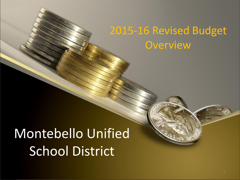 2015-16 Revised Budget Overview